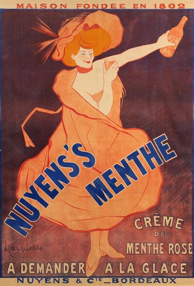 Leonetto Cappiello, 'Nuyens's Menthe'
