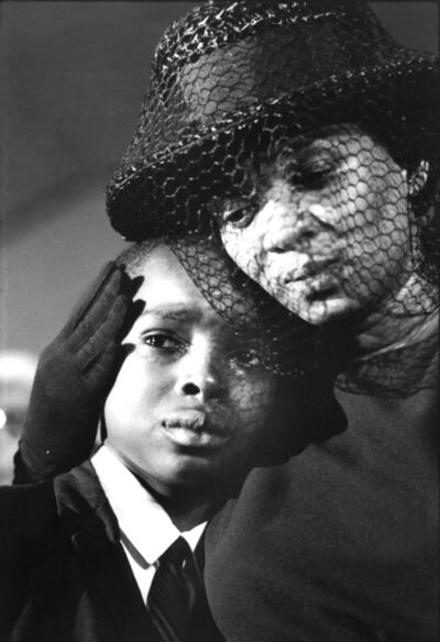 Bill Eppridge, 'Mrs. Cheney and Young ben, James Chaney Funeral, Mississippi,  1964', 1964