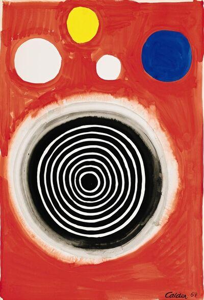 Alexander Calder, 'Concentric Nebula', 1967