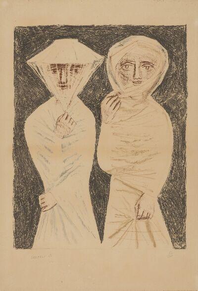 Massimo Campigli, 'La Passeggiata', 1952