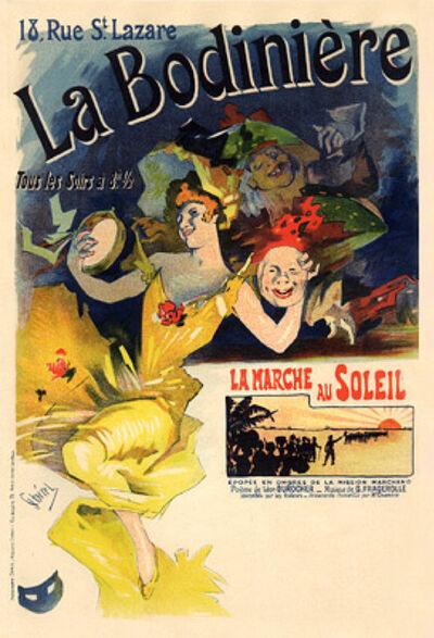 Jules Chéret, 'La Bodiniere', 1895-1900