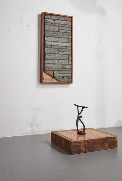 Theaster Gates, 'Asphalt painting for Huguenot House with altar', 2013
