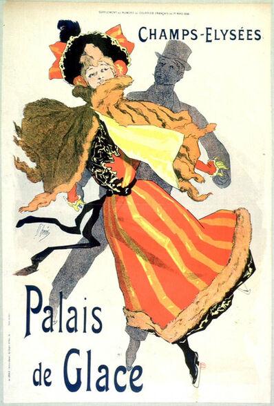 Jules Chéret, 'Les Palais de Glace Champs Elysées', 1895