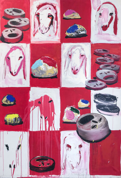 Menashe Kadishman, 'Untitled', 2004