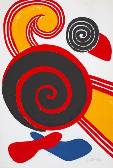 Alexander Calder, 'Spirales', 1969