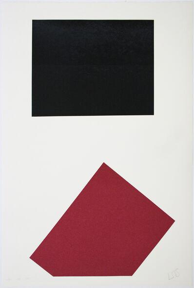 Leon Polk Smith, 'Werkubersicht/Work-Overview J', 1983-1987
