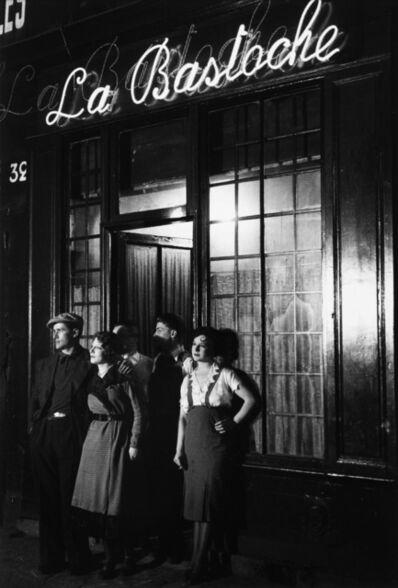 Brassaï, 'Un Bar Rue de Lappe (La Bastoche)', ca. 1932