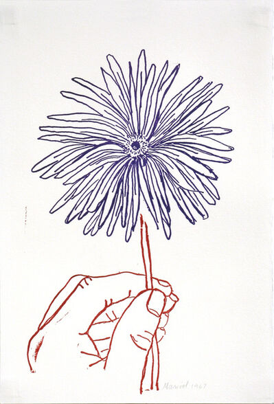 Marisol, 'Daisy, Stamped Indelibly', 1967