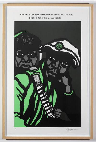 Emory Douglas, 'July 18, 1970', 2009