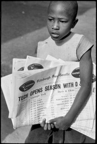 Elliott Erwitt, 'By Forbes Field. Pittsburgh, Pennsylvania. USA. ', 1950