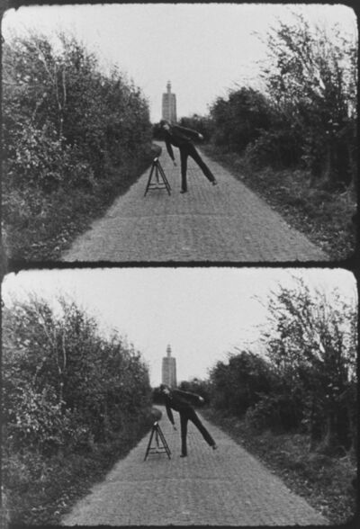 Bas Jan Ader, 'Broken fall (geometric), Westkapelle, Holland', 1971
