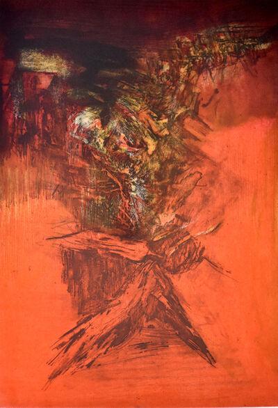 Zao Wou-Ki 趙無極, 'Composition I, from: Canto Pisan', 1972