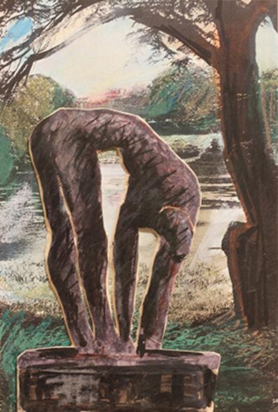 Ivor Abrahams, 'Figure in a Landscape', 1992