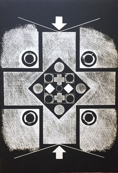 George Earl Ortman, 'Five', 1966