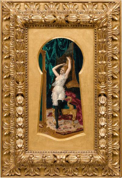 Moritz Stifter, 'Through the Keyhole', ca. 1890