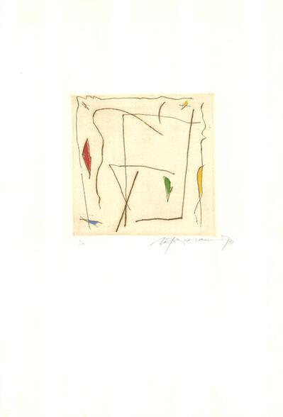 Albert Ràfols-Casamada, 'Estels 5', 1991