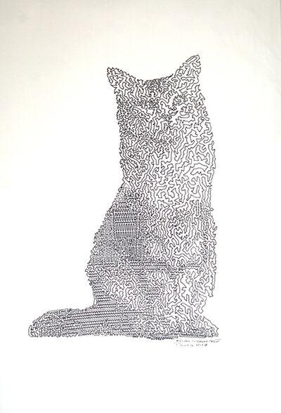 Patrick Lichty, 'RIC: Random Internet Cat #6', 2014