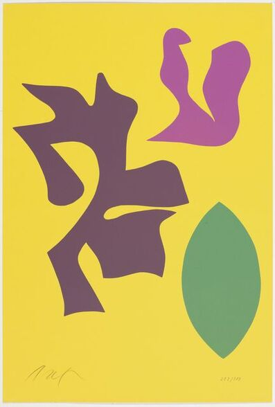 Hans Arp, 'From: Documenta Geigy', 1965