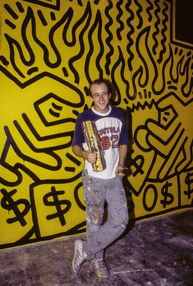 Lynn Goldsmith, 'Keith Haring (1985)', 1985
