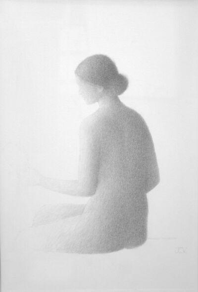 Xavier Valls, 'Desnudo de espaldas', 1977