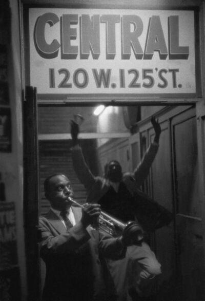 William Claxton, 'Cootie Williams, Harlem', 1960
