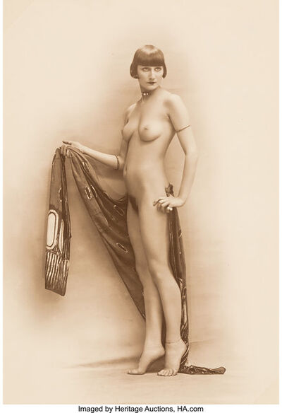 Paris Art Editions (20th Century), 'Untitled (Posed Nude)', Early 20th century