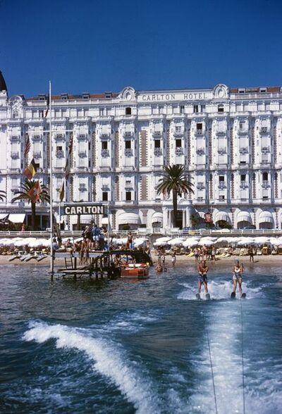 Slim Aarons, 'Cannes Sports', 1958