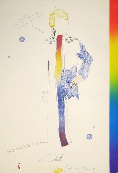 Jim Dine, 'Dorian Gray, Rainbow', 1968