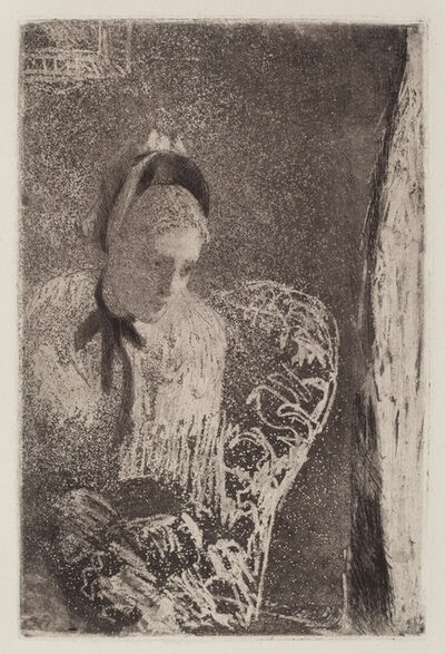 Mary Cassatt, 'Waiting', ca. 1879