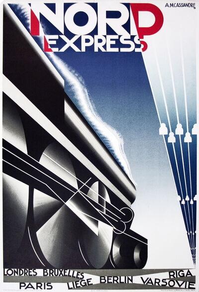 A.M. Cassandre, 'Nord Express', 1980