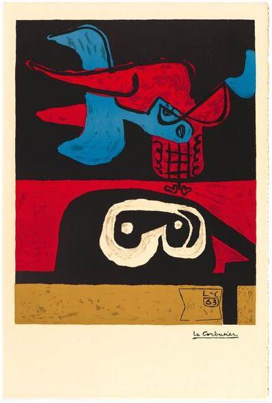 Le Corbusier, 'Autrement que sur terre', 1963