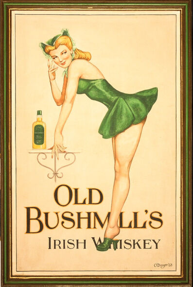 Unknown European, 'Old Bushmill's Irish Whiskey', 20th Century