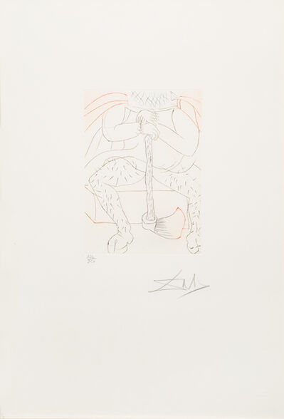 Salvador Dalí, 'Henry VIII from Shakespeare II'