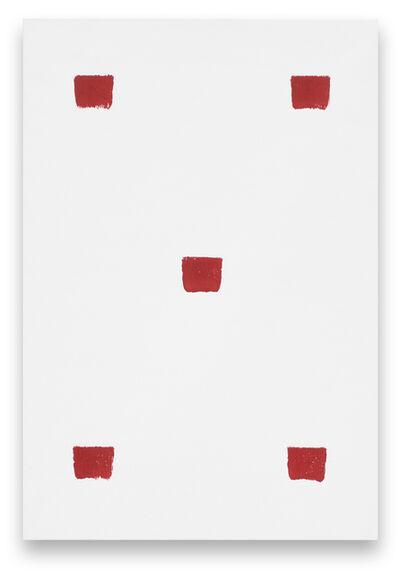 Niele Toroni, 'Empreintes de pinceau N°50 à intervalles réguliers de 30 cm', 2019