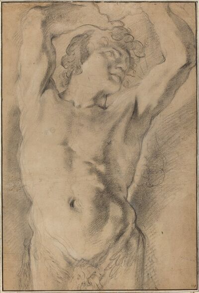 Domenico Maria Canuti, 'A Male Herm', ca. 1669
