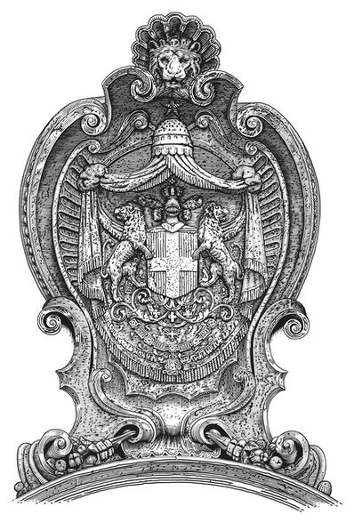 Arthur Borisov, 'Italian Coat of Arms (New Savoy Monarchy), Rome, Italy', 2015