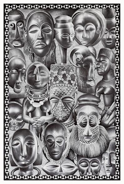 Tsham, 'Beautés africaines', 2016