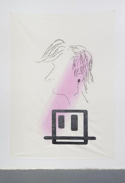 Anna K.E. & Florian Meisenberg, 'Late Checkout (portrait)', 2015