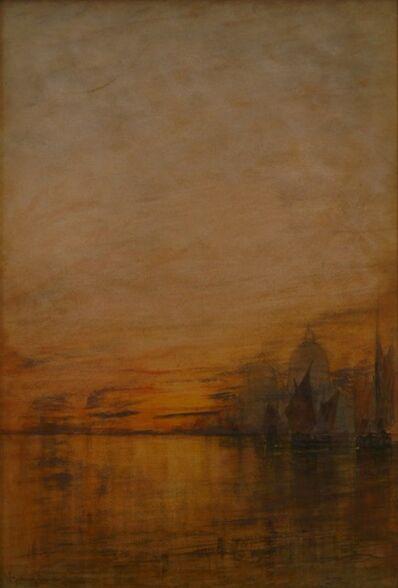 William Gedney Bunce, 'Venetian Reflections', 1895