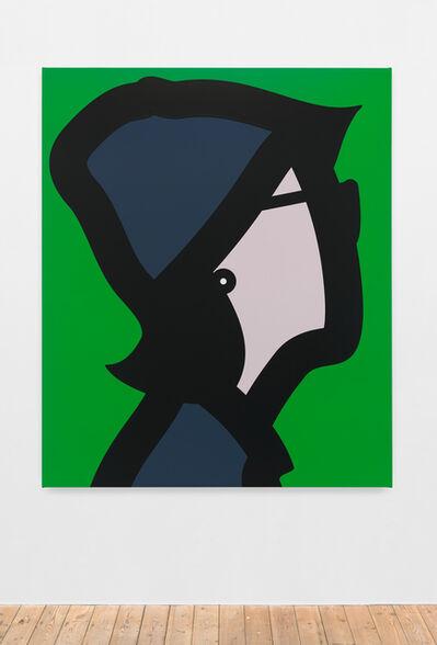 Julian Opie, 'Woman with felt cap.', 2015