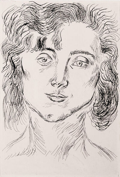 Henri Matisse, 'Portrait of Mlle. Marguerite Matisse', 1920