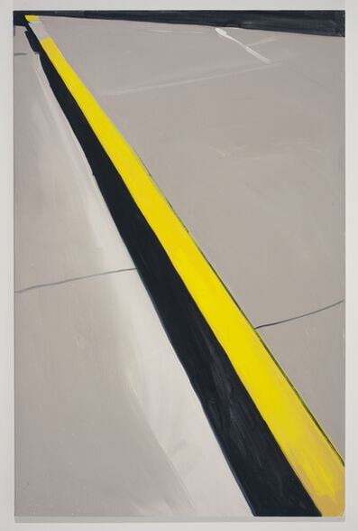 Koen van den Broek, 'Yellow and Black', 2011