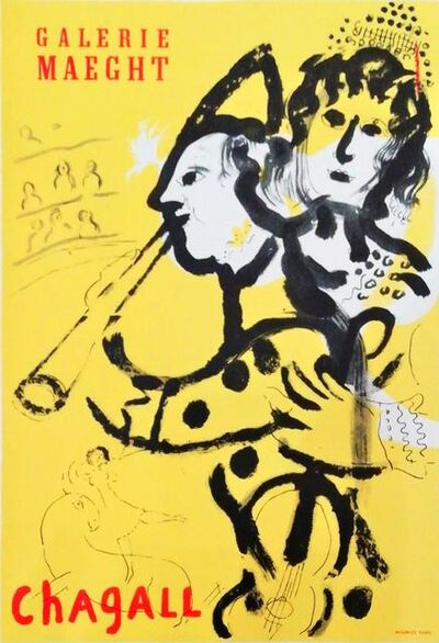 Marc Chagall, 'Galerie Maeght (musicians)', 1959