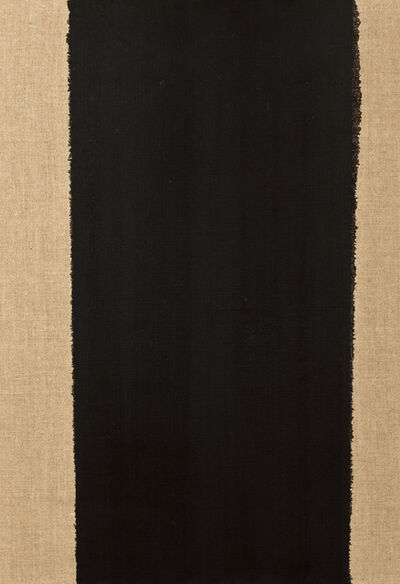 HyongKeun Yun, 'Burnt Umber & Ultramarine Blue', 1999