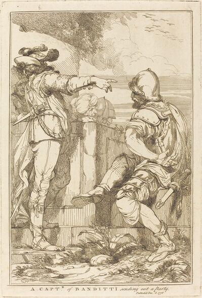 John Hamilton Mortimer, 'A Captn of Banditti Sending Out a Party', 1778