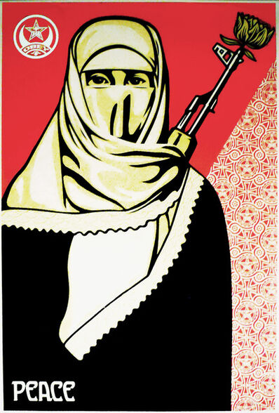 Shepard Fairey, 'Revolutionary Muslim Woman ', 2005