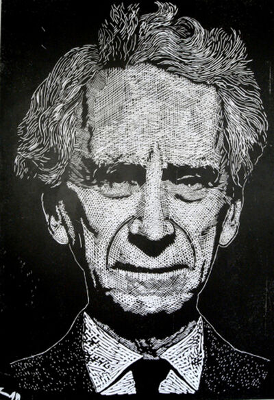 Thomas Kilpper, 'Untitled (Bertrand Russell; from the project State of Control, floor cut, former Ministry for State Security of the GDR, Berlin)', 2009-2010