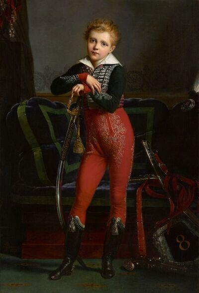 Alexandre-Jean Dubois-Drahonet,, 'Portrait of Achille Deban de Laborde.', 1817