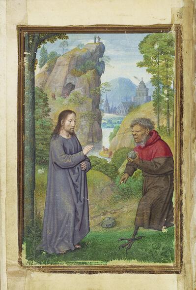 Simon Bening, 'The Temptation of Christ', 1525-1530