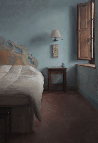 Kenny Harris, 'The Blue Walls (Terra Di Sienna series)', 2013
